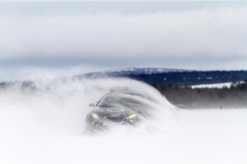 stage de pilotage sur glace en Laponie
